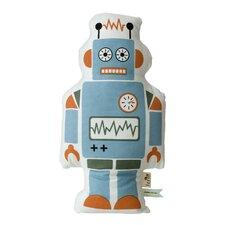 Mr. Robot Cotton Throw Pillow
