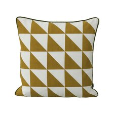 Modern Geometric Cotton Throw Pillow