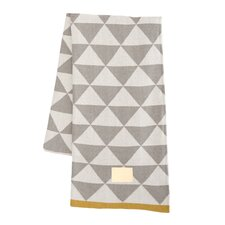 Modern Geometric Cotton Throw Blanket