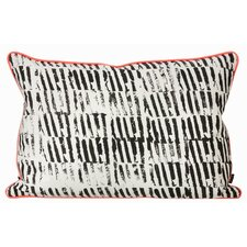Worn Stripe Organic Cotton Lumbar Pillow