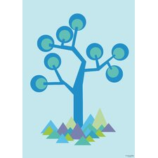 Illustration Tree Paper Print