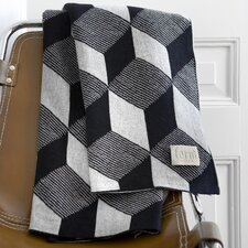 Squares Cotton Throw Blanket
