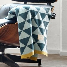 Modern Geometric Cotton Throw Blanket