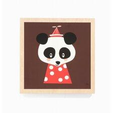 Posey Panda Framed Art