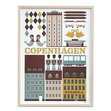 Copenhagen Unframed Graphic Art