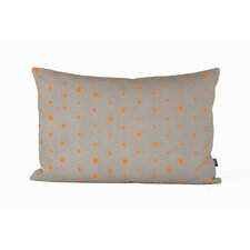 Dotted Organic  Cotton Lumbar Pillow
