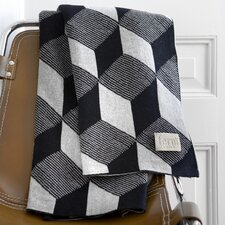 Squares Cotton Throw Blanket