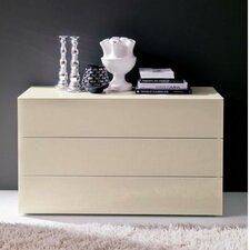 Enea 3 Drawer Bedside Table