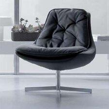 Daya Leather Chair and Ottoman