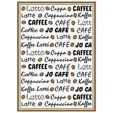 Frottier Geschirrtuch Kaffee Latté