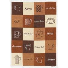 Frottier Geschirrtuch Kaffee
