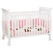 Jamie 3-in-1 Convertible Crib in White