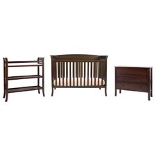 Tyler 4-in-1 Convertible 5 Piece Crib Set