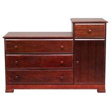 Kalani 4-Drawer Combo Dresser