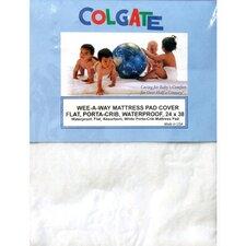 Wee-A-Way Waterproof Portable Crib / Mini Crib Mattress Cover