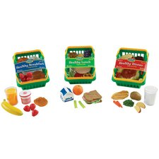 55-Piece Healthy Foods Play Set