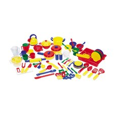 70 Piece Pretend and Play Kitchen Set