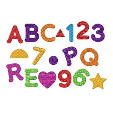 Essentials™ 56 Piece Magnetic Letters, Numbers and Shape Set