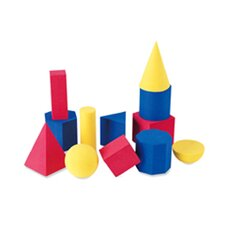 12 Piece Hands-on Soft Geometric  Set