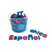 120 Piece Spanish Magnetic Foam Learning Letters Set