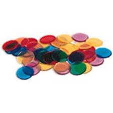250 Piece Transparent Counters  Set (Set of 3)