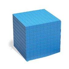 Base Ten Cube Plastic