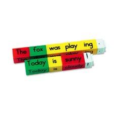 Reading Rods Simple Sentences Kit Letters