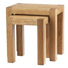 2-tlg. Satztisch-Set Block