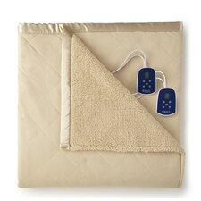 Micro Flannel® Sherpa Heated Blanket