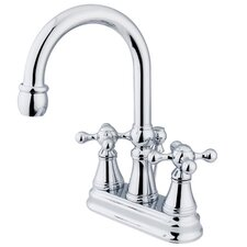 Madison Centerset Bathroom Faucet with Double Cross Handles