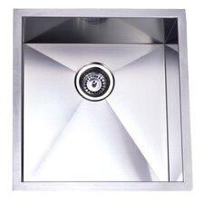 "20.06"" x 19"" Towne Square Undermount Single Bowl Kitchen Sink"