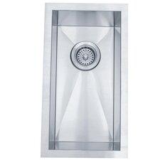"20"" x 11"" Towne Square Rectangular Undermount Single Bowl Kitchen Sink"
