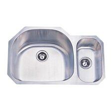 """31.5"""" x 20.69"""" Double Bowl Undermount Kitchen Sink"""