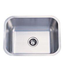 """23"""" x 17.75"""" x 9"""" Undermount Single Bowl Kitchen Sink"""
