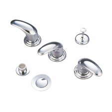 Triple Legacy Handle Vertical Spray Bidet Faucet