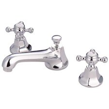 Metropolitan Widespread Bathroom Faucet with Double Cross Handles