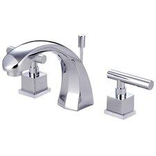 Rio Double Handle Widespread Bathroom Faucet with Pop-up