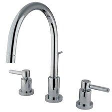 South Beach Double Handle Mini-Widespread Bathroom Faucet