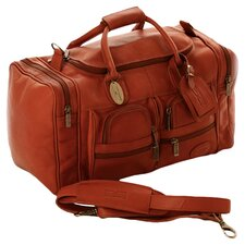 "Executive Sports 17"" Leather Travel Duffel"