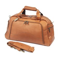 "9"" Leather Carry-On Duffel"