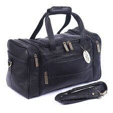 "Petite Sport 14"" Leather Travel Duffel"