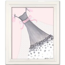 Dress Up Butterfly Couture Canvas Art
