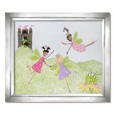 Fairy Friends Princess Picnic Framed Art