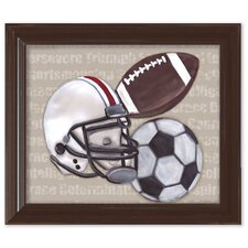 Sport Framed Art