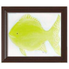 Sea Creatures Flicka the Fish Framed Art