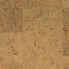 "Floor Tiles 12"" Solid Cork Hardwood Flooring in Pyramid"