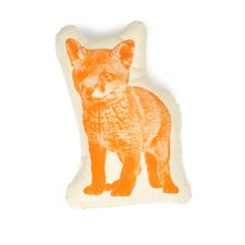 Fox Pico Throw Pillow
