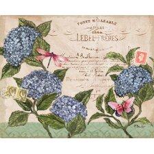 Parisian Hydrangeas by Carol Rowan Non-Slip Flexible Cutting Board