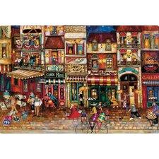 Streets of Paris by Jennifer Garant Non-Slip Flexible Cutting Board
