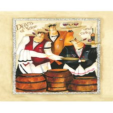 Days of Wine and Roses Cutting Board